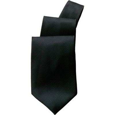 Black Patterned Tie TSOL-BLK_CHEF