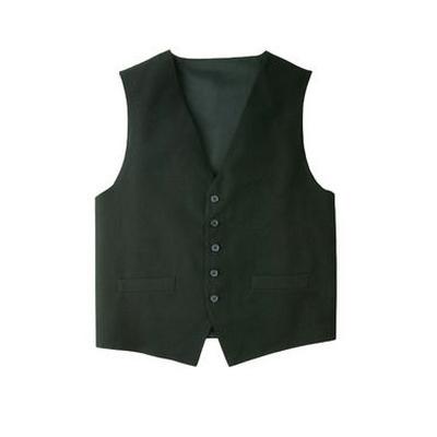Mens Black Basic Vest