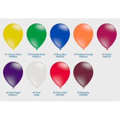 "Crystal Translucent Balloon - 11"" (28cm)"
