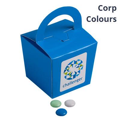 100g Coloured Choc Beans - StickerCorp