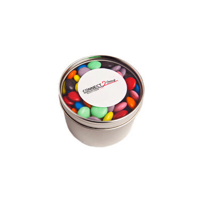 150g Corporate Coloured Choc Beans Sticker