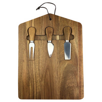 Trekko Cheeseboard & Knife Set
