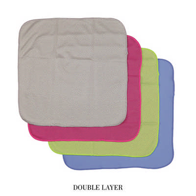 Ct004 Cooling Face Cloth Dl - (printed with 1 colour(s))  (CT004_DEX)
