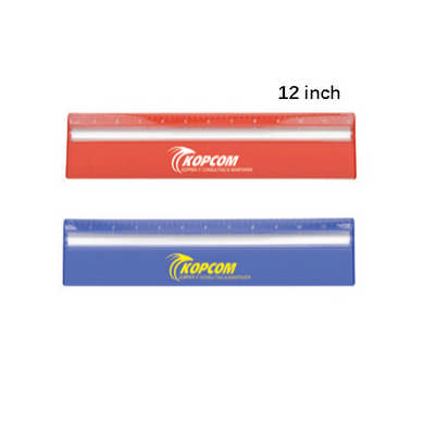30cm Ruler with Colour and Magnifying