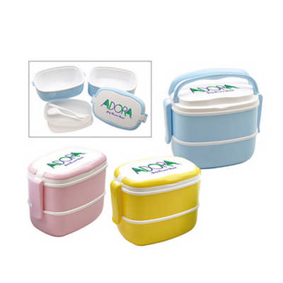 2 Layer Lunch Box