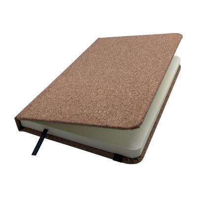 A6 Cork Soft Wood Notebook
