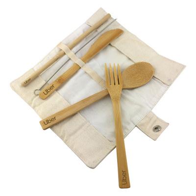 Bamboo Utensils Set