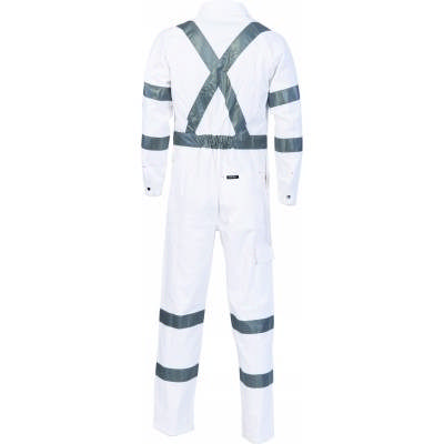 311gsm RTA Standard Night Worker Coveralls with 3M8910 R/Tape 3856_DNC