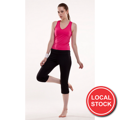 Local Stock - Elise Fitness Singlet - Ladies