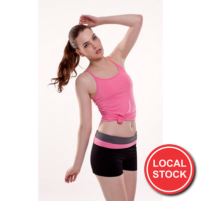 Local Stock - Karrise Fitness Singlet - Ladies