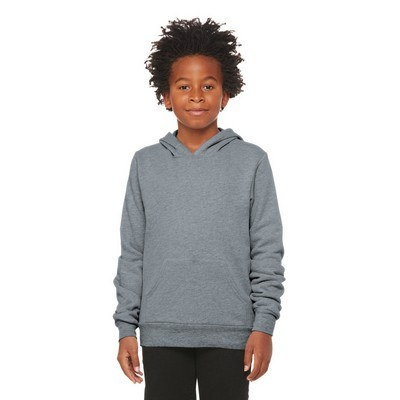 BELLA+CANVAS Youth Sponge Fleece Pullover Hoodie B