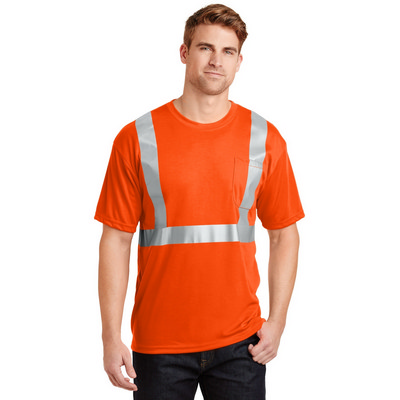 CornerStone - ANSI 107 Class 2 Safety T-Shirt. CS
