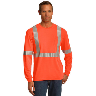 CornerStone ANSI 107 Class 2 Long Sleeve Safety T-