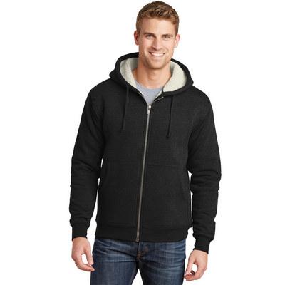 CornerStone Heavyweight Sherpa-Lined Hooded Fleece
