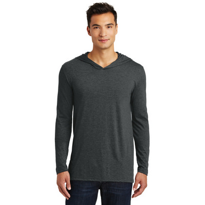 District Made Mens Perfect Tri Long Sleeve Hoodie.