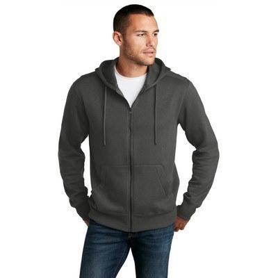 District Perfect Weight Fleece Full-Zip Hoodie DT1