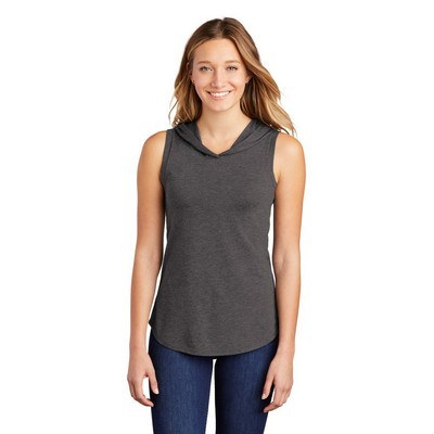 District Womens Perfect Tri Sleeveless Hoodie DT13