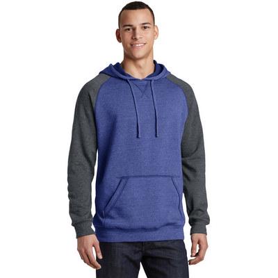 District Young Mens Lightweight Fleece Raglan Hood
