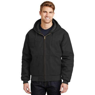 CornerStone - Duck Cloth Hooded Work Jacket. J763