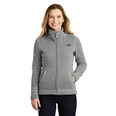 The North Face Ladies Sweater Fleece Jacket. NF0A