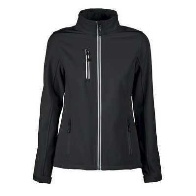 Printer Activewear Vert Womens Softshell Jacket