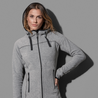 Womens Active Power Fleece Jacket