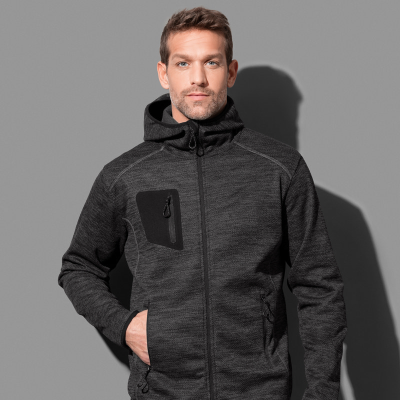 Stedman Collection Mens Recycled Fleece Jacket