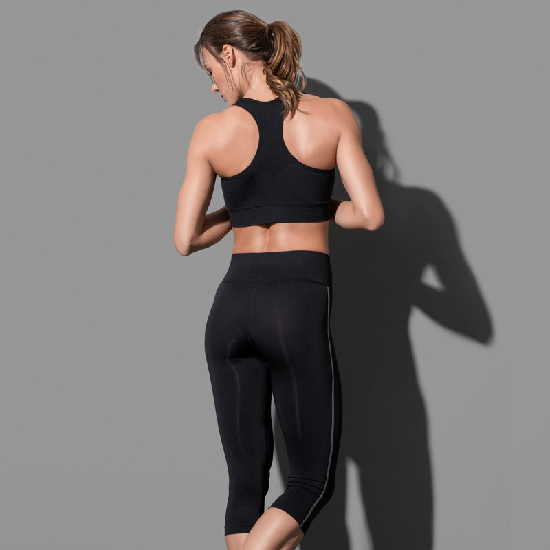 Stedman Collection Womens 3/4 Sports Tights