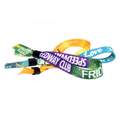 Fabric Wristbands Sublimated Local