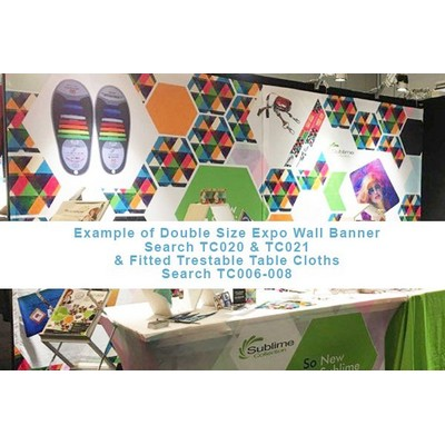 Sublimated Custom Print Wall Banner INDENT