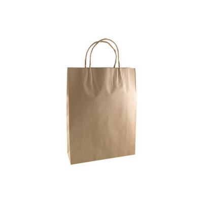 Small Standard Brown Kraft Paper Bag Printed