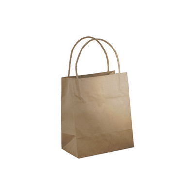 Toddler Standard Brown Kraft Paper Bag Printed