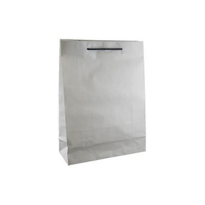 Small Deluxe White Kraft Paper Bag