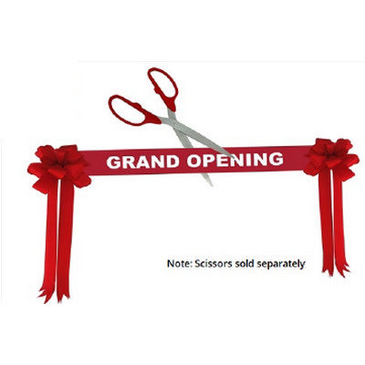 Grand Opening Ribbon Kit - Red