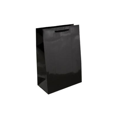 Baby Black Gloss Laminated Paper Bag Printed