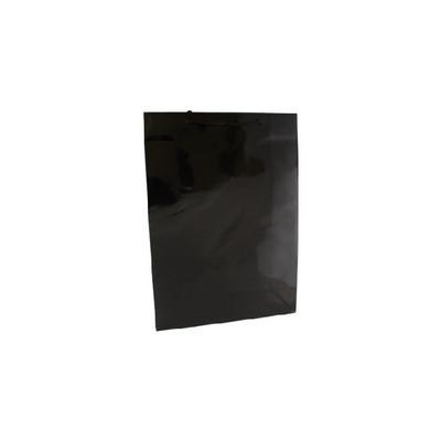 Medium Black Gloss Laminated Paper Bag