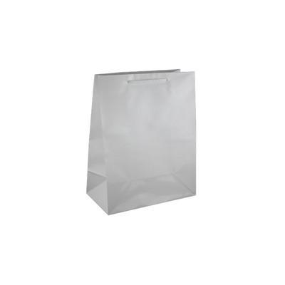 Medium White Gloss Laminated Paper Bag Printed