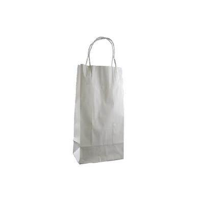 Junior Standard White Kraft Paper Bag
