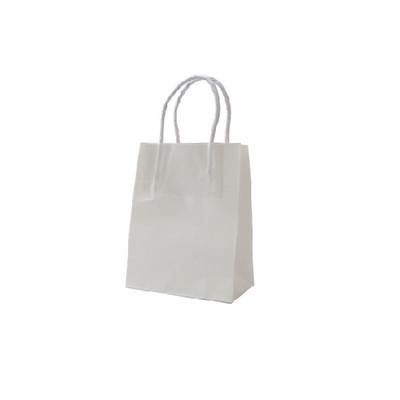 Runt Standard White Kraft Paper Bag Printed