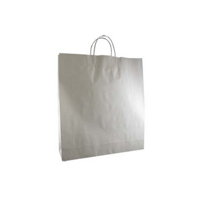 Large Standard White Kraft Paper Bag