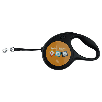 Dog Lead Hard Plastic Retractable with Sublimated