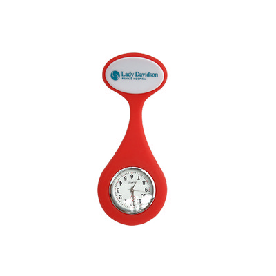 Nurses Silicone Watch with Pin Clip