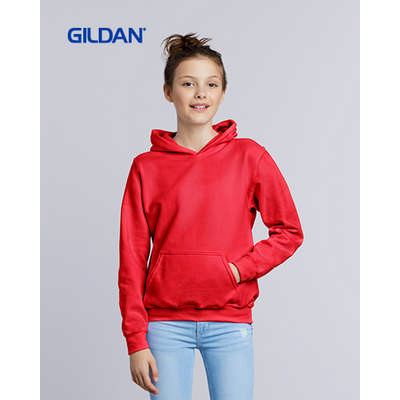 Gildan Heavy Blend Youth Hooded Sweatshirt Colours