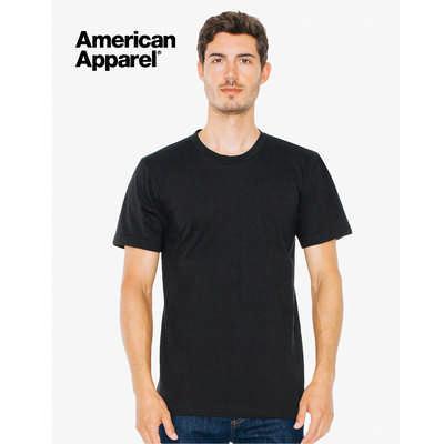American Apparel Unisex Organic T-Shirt Colours