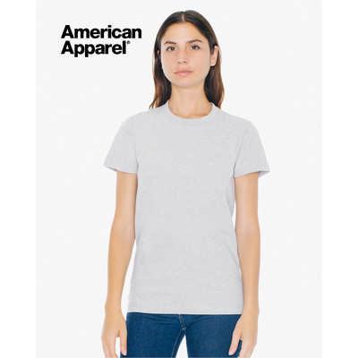 American Apparel Womens Fine Jersey Short Sleeve T