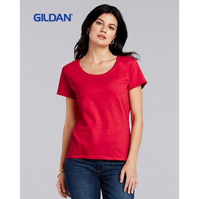 Gildan Softstyle Ladies Deep Sccop T-Shirt Colours