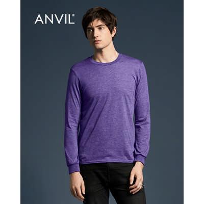 Anvil Adult Lightweight Long Sleeve Tee Colours