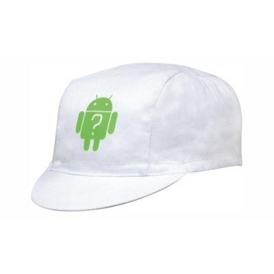 3 Panel Cycling cap with Short Peak