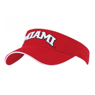 Brushed Heavy Cotton Visor With Sandwich