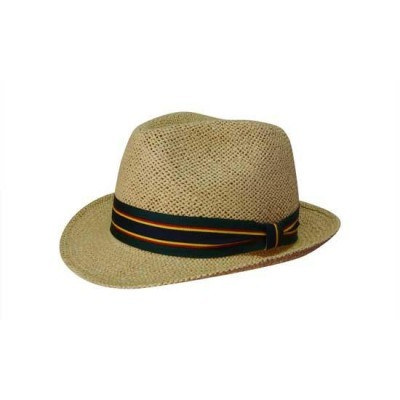 Natural Fedora Style String Straw Hat